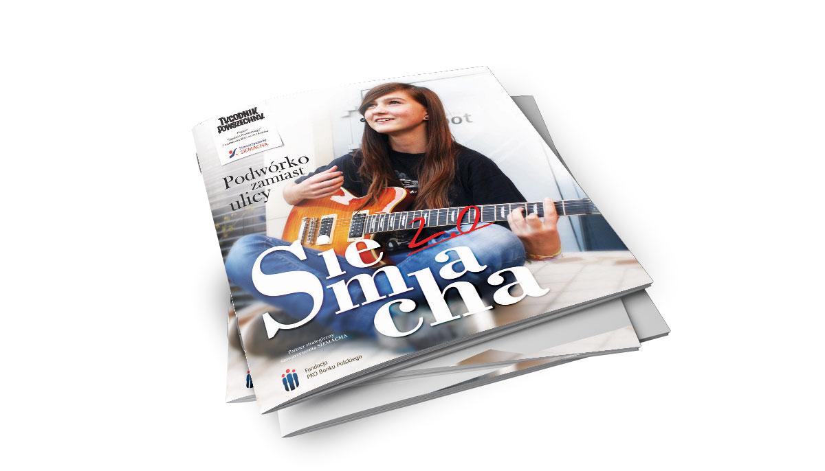 Projekty gazet, magazynów, skład książek ewydawnictwa, ebook